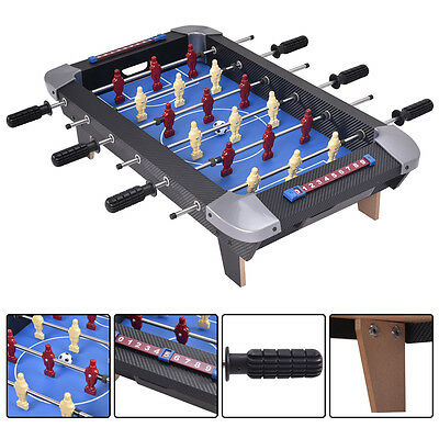 28'' Foosball Table Top Football Soccer Kids Family Game Toy Set Wooden Frame