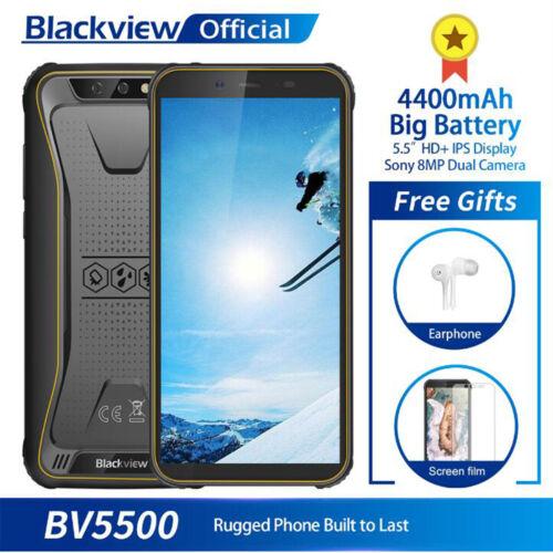 "5.5"" Blackview BV5500 2GB+16GB Smartphone 3G Unlocked Cell P"