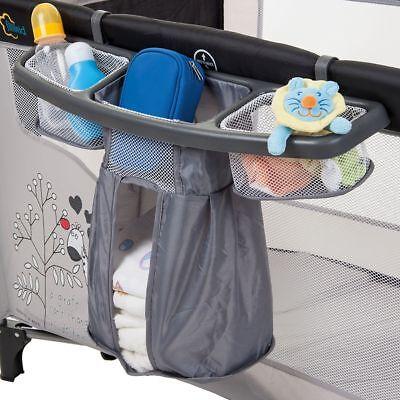 ORGANIZER / Staufächer für REISEBETT Kinderbett Kinderreisebett Kind Baby Bett