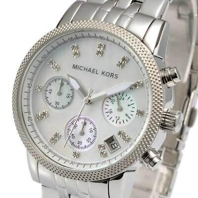 Michael Kors Ritz Silver-Tone MK5020 Wrist Watch for Women