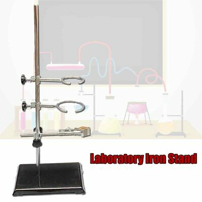 Laboratory Stand Lab Holder Clamp Flaskcondensertube Iron 50cm19.7 Height