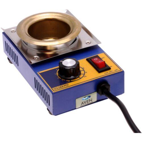 AVEN 17100-150 Lead-Free Solder Pot, 150W, 500 Gram Capacity, Authentic