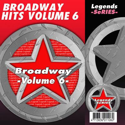 Broadway Musical Karaoke CDG CDs Broadway Musicals Legends Volume 6  ()