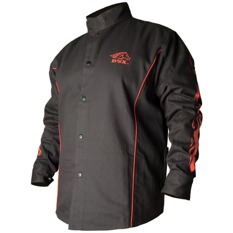 Revco Black Stallion FR Cotton Welding Jacket BX9C BSX Size XL