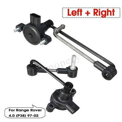 Front + Rear Height Level Sensor ANR4686 ANR4687 For Land Rover Range Rover P38