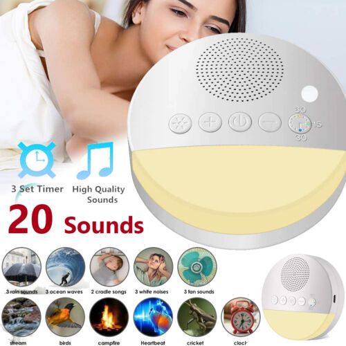 White Noise Machine for Sleeping 20 Sounds Sleep Sound Thera