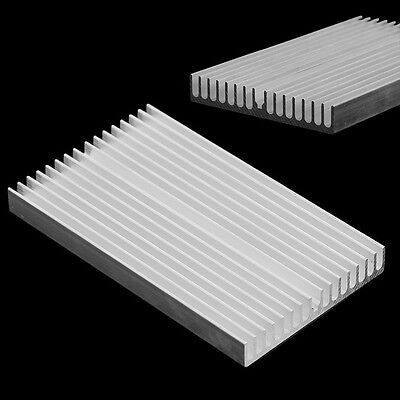 1Pcs 100X60x10mm Aluminum Heat Sink Led Power Ic Transistor Dc Convertidor
