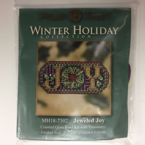 Mill Hill Winter Holiday Jeweled Joy Cross Stitch Beaded Kit