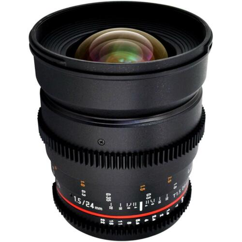 Rokinon 24mm T1.5 Cine Lens for Micro Four Thirds System CV24M-MFT