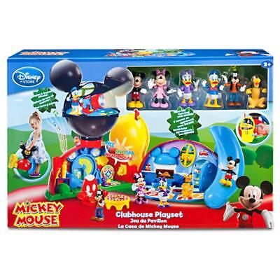 NEW Disney Exclusive Mickey Mouse Clubhouse Playset FREE