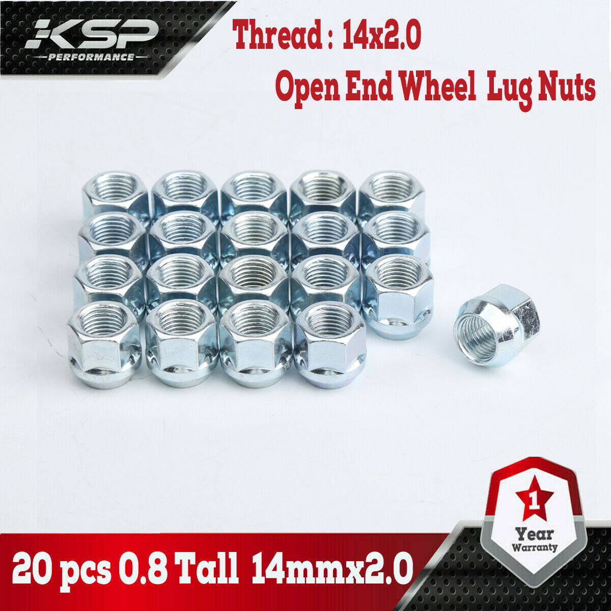 "32 Bulge Acorn Lug Nuts M14x2.0 Chrome 1.77/"" Tall Ford Expedition F150 Navigator"