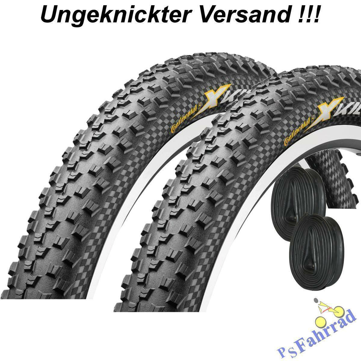"""2x Continental Reifen """"X-King"""" 26"""" 27,5"""" 29"""" schw. MTB Mantel m/o Conti Schlauch"""