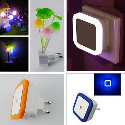 Led Nachtlicht Sensorlicht Kind Schlafzimmer Licht Lampe Steckdose ... Bilder Von Licht Im Schlafzimmer
