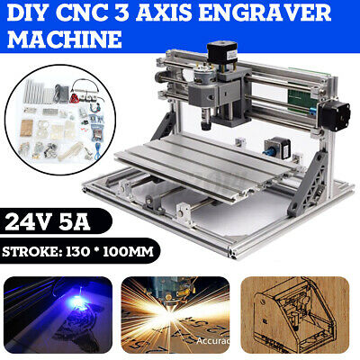 Mini Engraving Machine Diy Mini 3 Axis Cnc Pcb Milling Wood Router Engraver