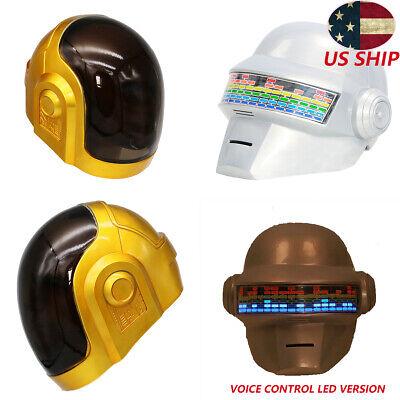 Daft Punk Mask Thomas Bangalter Guy-Manuel Helmet Cosplay Costume Prop Halloween