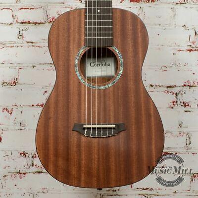 Cordoba Mini II Nylon String Acoustic Guitar - Flamed Mahogany x4742