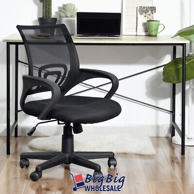 Modern Office Chair Mesh Back Excecutive Ergonomic Computer Desk Seat