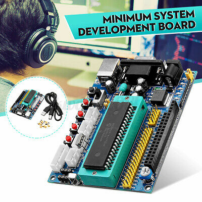 Dc 12v Pic16f877a Pic Minimum System Development Board Emulator Jtag Icsp Progra