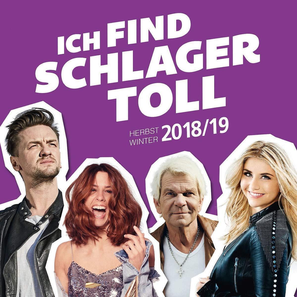 ICH FIND SCHLAGER TOLL Herbst/Winter 2018/19  Doppel-CD  NEU & OVP