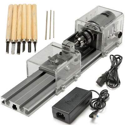 Raitool Lb-01 Mini Lathe Beads Machine Wood Working Diy Lathe Polishing Drill