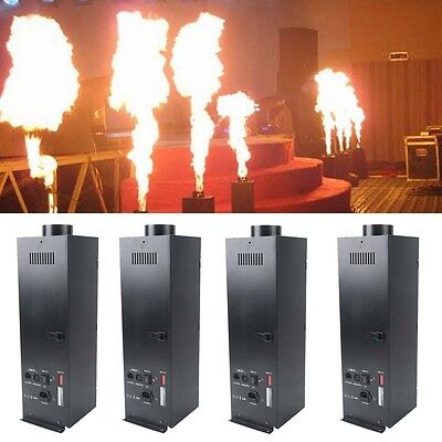Stage Lighting: Single Units 300w Flame Thrower Stage Dmx Fire Projector Disco Show Dj Party Bar Machine New Varieties Are Introduced One After Another