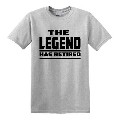 THE LEGEND HAS RETIRED T SHIRT/Funny/Retirement/Gift for Dad Grandad/T-shirt/Top ()