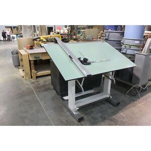 Tech master drafting table- Retails for $1500 new! Peterborough Peterborough Area image 1