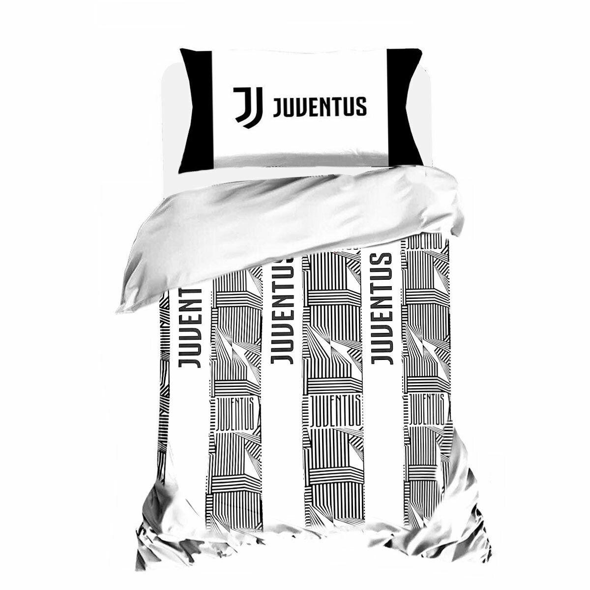 Copripiumino Matrimoniale Juventus.Parure Copripiumino F C Juve Juventus Ufficiale Letto Singolo Una