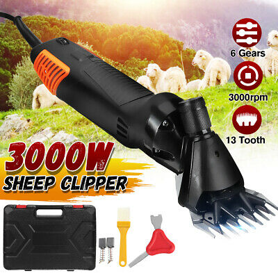 3000w Sheep Goat Shears Clippers Electric Animal Shave Grooming Farm Supplies T
