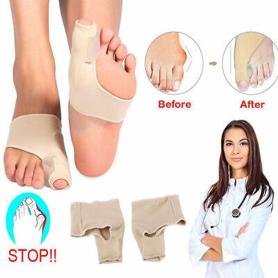 2Pcs Big Toe Bunion Splint Straightener Corrector Foot Pain Relief Hallux Valgus ()