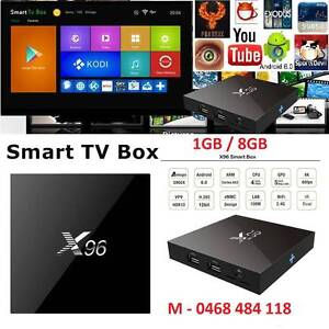 Best selling Android smart tv box X96 S905X 4K Kodi 1gb/ 8gb OTT Noble Park Greater Dandenong Preview