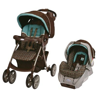 Graco Spree Travel System Stroller & Car Seat in Ollie Brand New!!