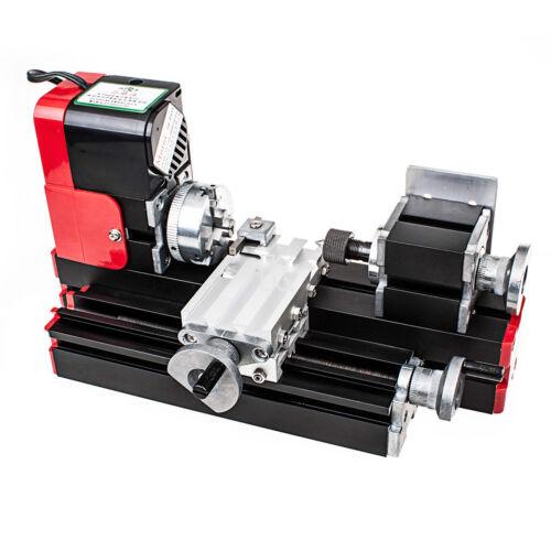 USA Ship New CNC Metal Motorized Mini Lathe Machine For DIY / Making Model