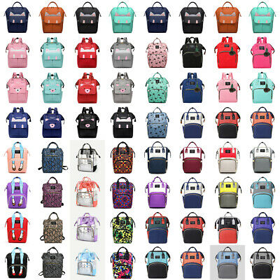 Baby Diaper Nappy Backpack Mummy Bag Large Rucksack Maternity Satchel Waterproof