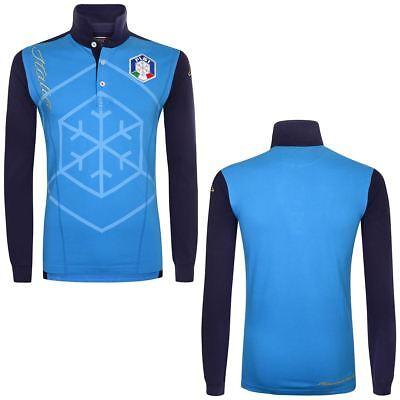 Kappa Polo Shirts FISI POLO LONG SLEEVES Uomo Aroundsport Polo