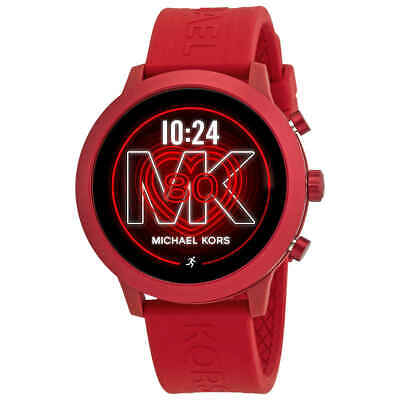 Michael Kors Access Gen 4 MKGO Red-Tone and Silicone Smartwatch MKT5073