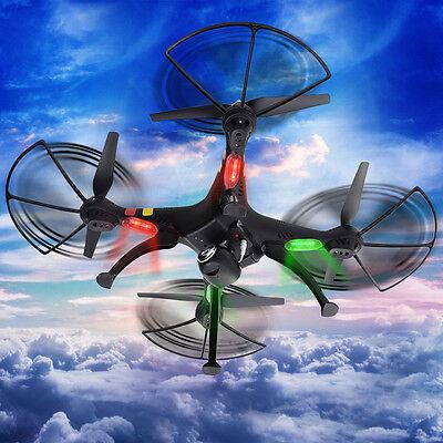 US Syma X8C 2.4Ghz 6-Axis Gyro RC Quadcopter 2MP HD Camera UAV UFO RTF 2Colors