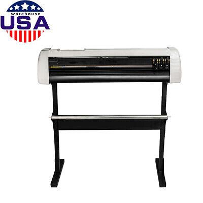 Hot Us 33 Plotter Machine Cutter Vinyl Cutter Plotter Wsoftware Supplies