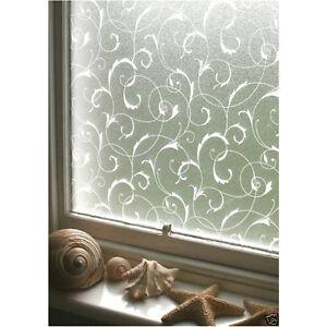 3d statica vetrofania pellicola opaca per privacy finestre - Pellicola finestre privacy ...
