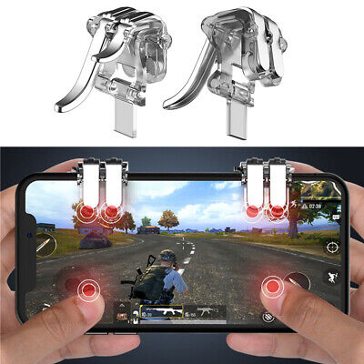 4 Key Gaming Trigger Phone Game PUBG Mobile Controller Gamepad for Android IOS