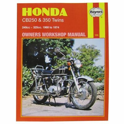 Workshop Manual Honda CB250 & 350 Twins 1968-1974