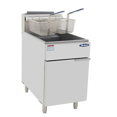 Atosa Atfs-75 Commercial 75lb Nat Gas Deep Fryer