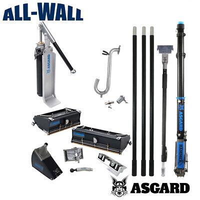 Asgard Drywall Taping Tools Full Pro Set Taper Boxes Handles Pump Warranty