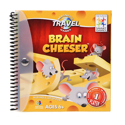 eeser Magnetic Kids Childrens Travel Puzzle Game Book (Smart Brain Games)