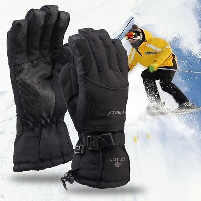 dba4fd8f52045 Mens Waterproof Gauntlet Ski Gloves for Winter Sports Snow 3M Thinsulate -  ' L '