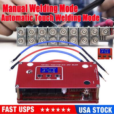 Diy Portable Mini Spot Welder Machine Various Welding Power Supply 18650 Battery