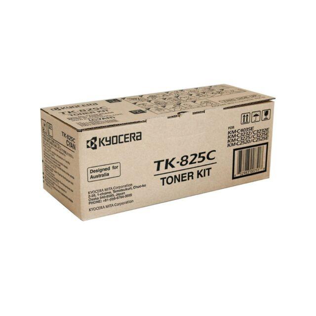original Kyocera Toner Kit TK-825c cyan KM-C4035E C3232 C2520 A-Ware