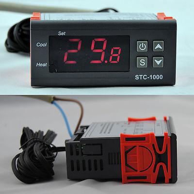 New 220V Digitale LCD-Anzeige Temperaturregler Thermostat Regler mit Sensor TE54