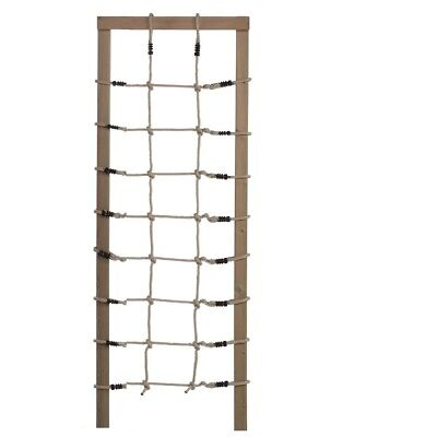 Kletternetz H200 x B75 cm Netz Strickleiter Spielturm Zubehör Kletterutensilien