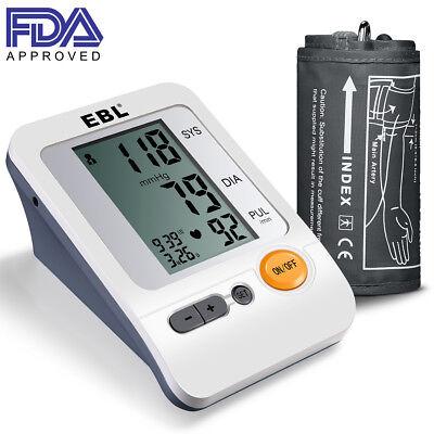 "EBL Upper Arm Blood Pressure Monitor Large Cuff (11.8-16.5"") Automatic Measure"